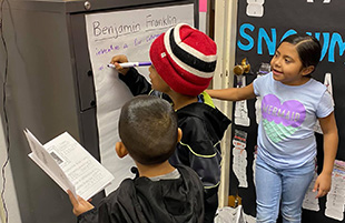 Guadalupe Grizzlies Learn Social Studies
