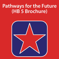Pathways for the Future - HB 5 Brochure