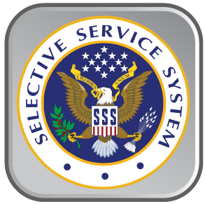 Selective Service Homepage (button)