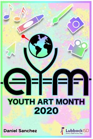 Youth Art Month Poster Photo