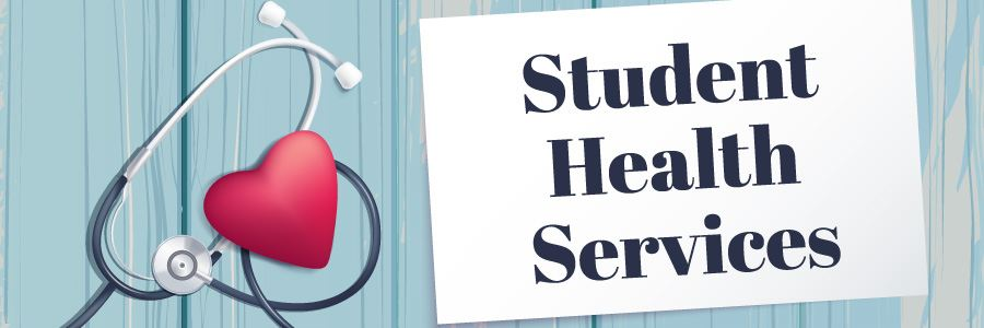 Student Health Services Header