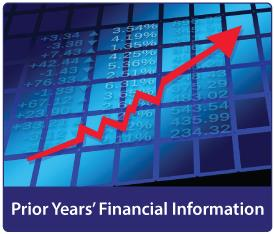 Prior Years' Financial Information