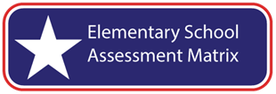 Elementary School Assessment Matrix