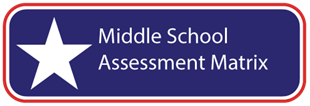 Middle School Assessment Matrix