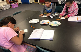 Third Graders Explore Mixtures and Solutions