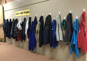 Has Your Student Lost a Jacket or Coat?