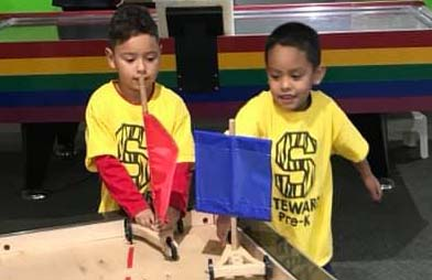 PreK at the Science Spectrum