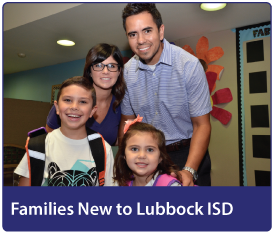 Families New to Lubbock ISD