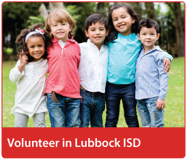 Volunteer in Lubbock ISD