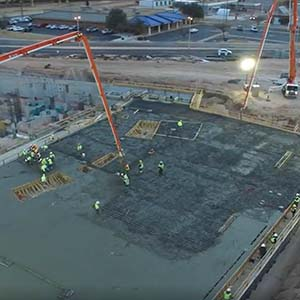 The Big Pour - One Continuous Concrete Pour