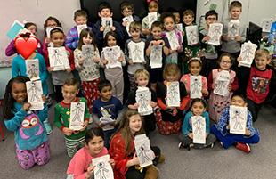 Second Grade Creates Heroes Fair Project