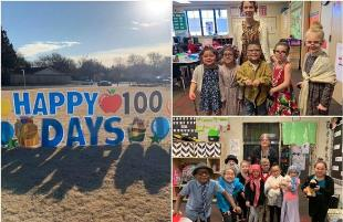 Lubbock ISD Students Complete 100 Days of School