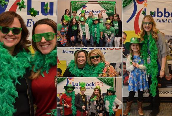 """Green Teachers"" celebrated at green-themed party"