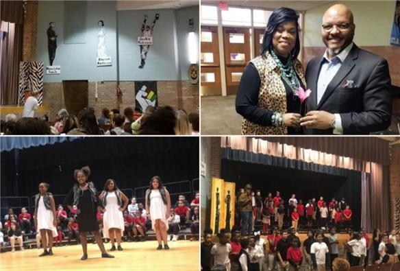 Alderson ES wraps up Black History Month with celebration