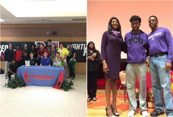 Athletes Sign Letters of Intent December