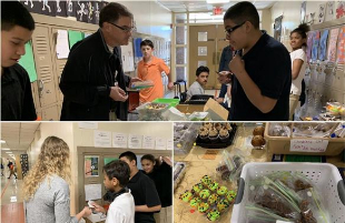 Atkins Middle School Students Raise Money for Field Trips