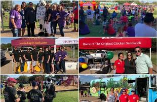 Food and Fun at Third Annual Brown ES Community Picnic