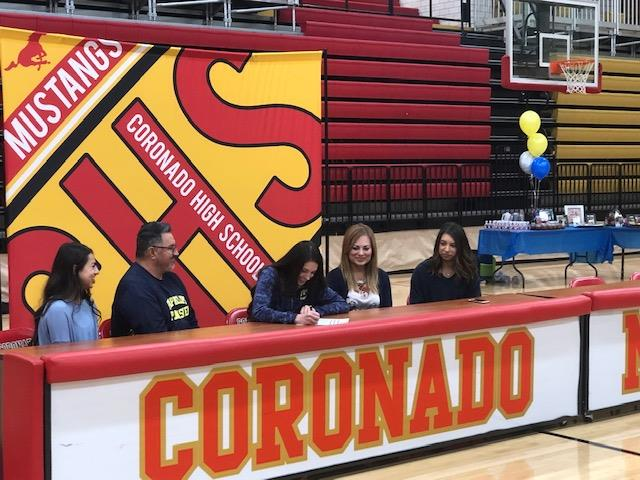 Coronado HS athlete signs to play collegiate sports