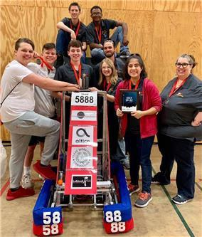 oronado HS FRC team makes it to Greenville district finals