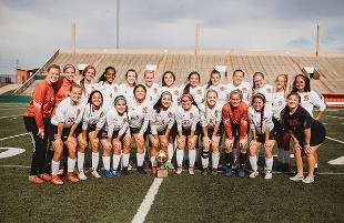 Lady Mustangs Soccer Team Moves on to Regional Semifinals