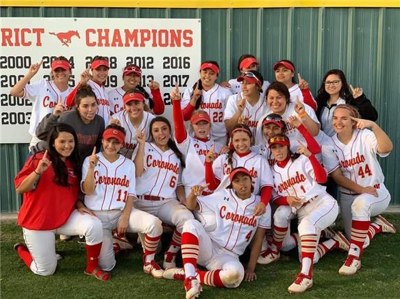 Coronado softball program secures another district championship