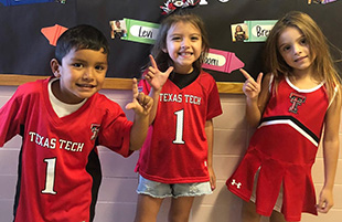 Wright Elementary Students Celebrate College and Career Week
