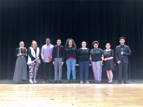 Theatre students from Estacado High School advanced to UIL Area One Act Play for their outstanding performances last week at