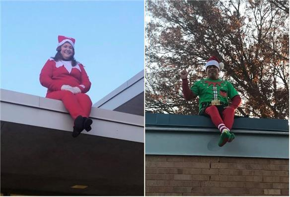Elf on the Roof