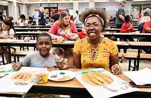 Ervin Elementary hosts Family Night