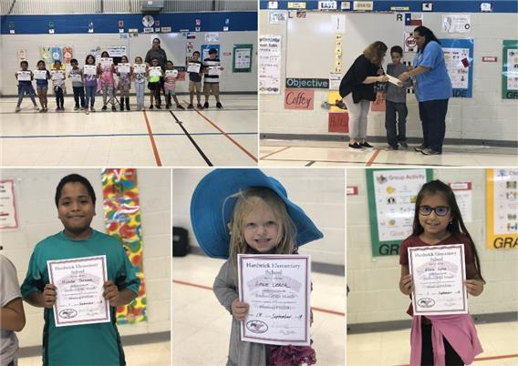 "Hardwick ES celebrates first six weeks with ""Mustang Stampede"""