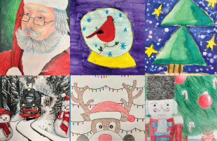 2018 Holiday Card Art Contest Winners Announced