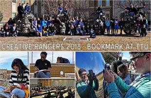 Hutchinson MS Creative Rangers Visit Texas Tech Campus