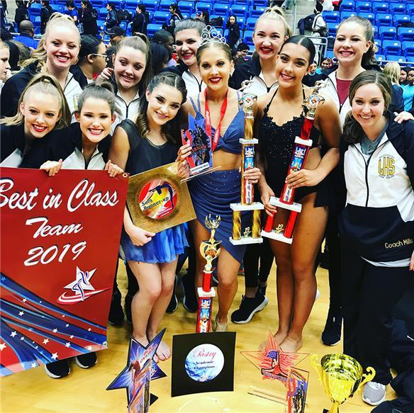 Lubbock HS pom squad racks up awards at recent competition