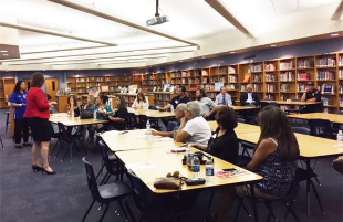 Trustee Lala Chavez Hosts Town Hall Meeting