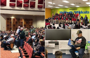 Lubbock ISD Campuses Celebrate Veterans Day