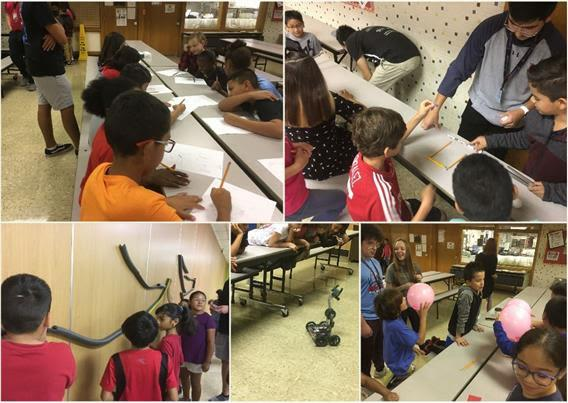 Monterey Robotics brings excitement of STEM to Parsons ES