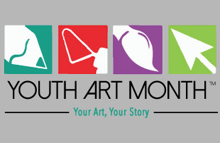Celebrate Youth Art Month with Local Displays and Events