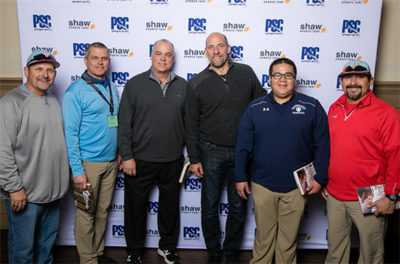 Monterey baseball staff meets MLB Hall of Famer