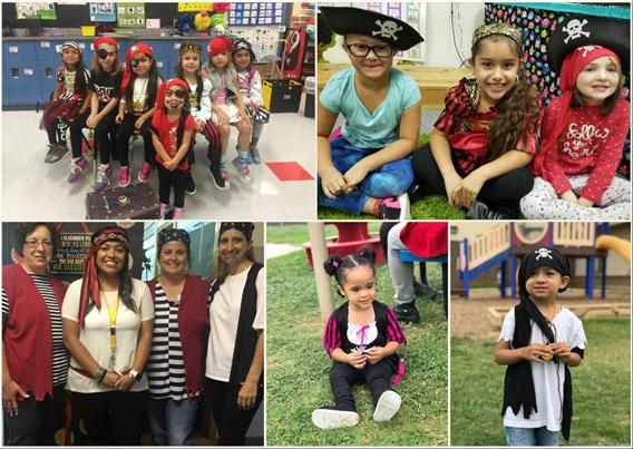Parsons Pirates celebrate National Talk Like a Pirate Day