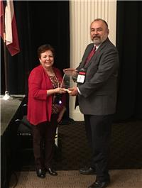 Rick Rodriguez honored with award from TASPA
