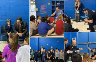Community Leaders Participate in Roscoe Wilson ES Career Day