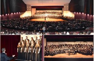 More than 700 of Lubbock ISD's choir students came together