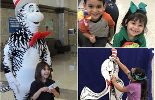 Nearly 400 people attended Spring Thing with Dr. Seuss