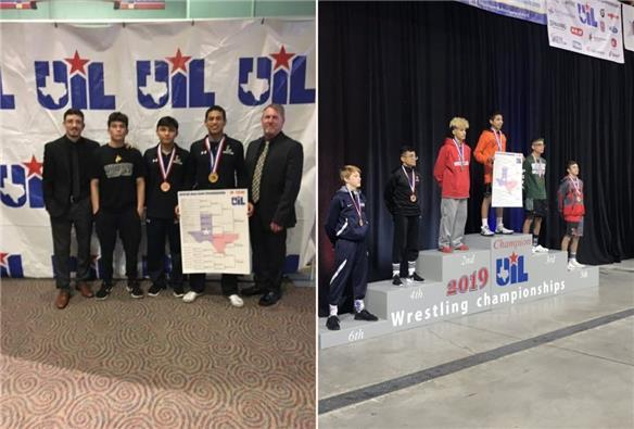Lubbock ISD wrestlers successfully tackle UIL state tournament