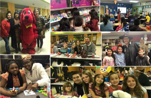 Stewart Elementary School Hosts Family Literacy Night