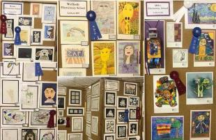 Student Artwork on Display at Panhandle South Plains Fair
