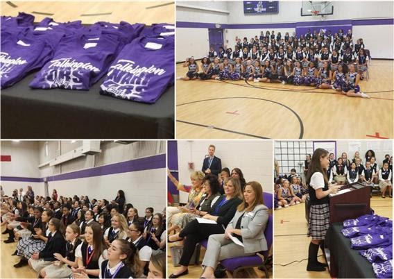 Talkington SYWL welcomes students with transition ceremonies