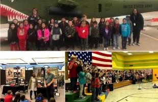 Waters ES Hosts Annual Armed Forces Day