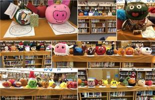 Storybook Pumpkin Patch Fills Waters ES Library
