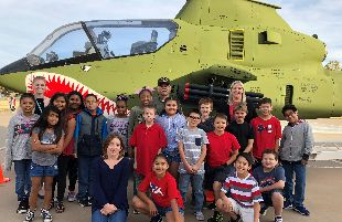 Waters Elementary School Celebrates Armed Forces Day